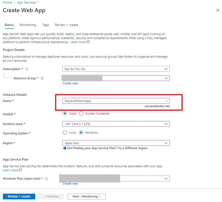 azure_app_service_easy_auth_create_app_service_to_get_domain
